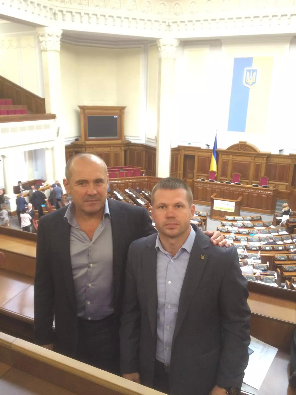 Вадим Кривохатько и Владимир Сосуновский