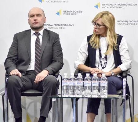 Руслан Анфилов и Елена Хотенко